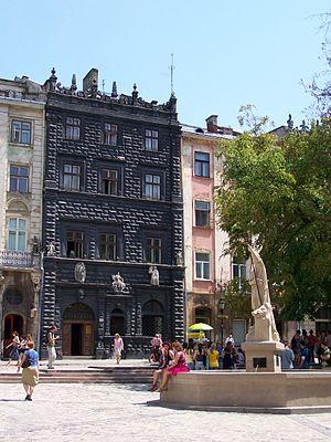 Market Square (Lviv) - Black House, Lviv