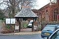 Lych gate at Paignton Parish Church - geograph.org.uk - 1083990.jpg