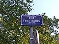 Lyon 8e - Rue Frida Kahlo - Plaque (mai 2019).jpg