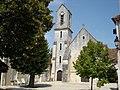 Mérigny (36) - Église Saint-Sulpice - vue avant.jpg