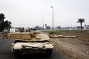 M1A1 Abrams with Integrated Management System new Tank Urban Survivability Kit Dec. 2007