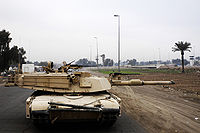 M1A1 Abrams with Integrated Management System new Tank Urban Survivability Kit Dec. 2007.jpg