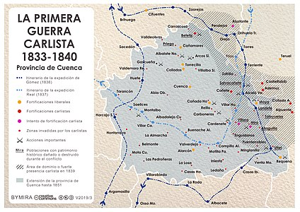 Mapa Provincia De Cuenca España.Provincia De Cuenca Wikipedia La Enciclopedia Libre