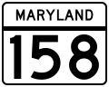 MD Route 158.svg