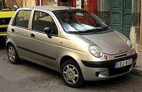 Chevrolet (Daewoo) Matiz