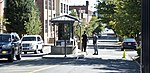 MPD officer and armed Navy guard at 9th Street Gate - Washington Navy Yard shooting - 2013-09-17.jpg