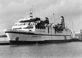 Svensk fartyg nara kollision