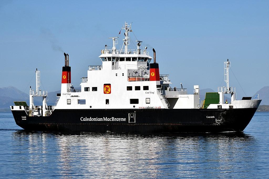 MV Coruisk Approaching Craignure, 8 May 2017.jpg