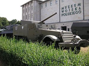 T48 Gun Motor Carriage - T48 in the Polish Army Museum