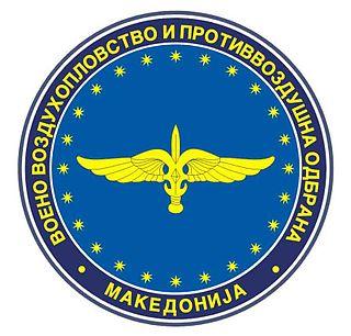 Air force of North Macedonia Air warfare branch of North Macedonias military