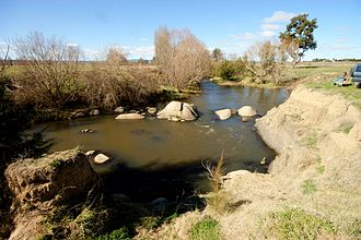 Macquarie River - The Macquarie River, not far from its source, near Bathurst