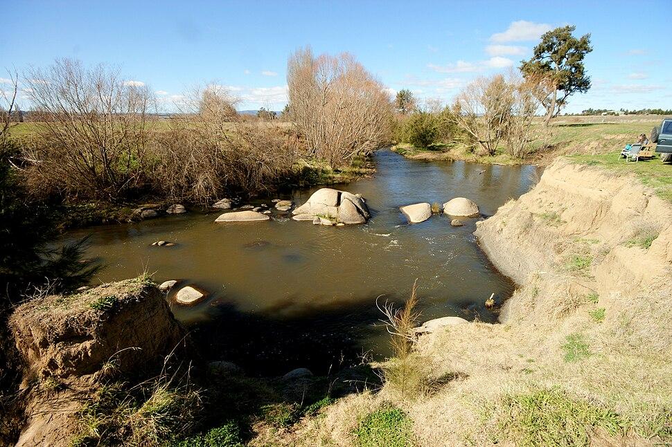 Macquarie River at Bathurst