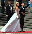 Madeleine and Carl Philip at royal wedding konserthuset.JPG