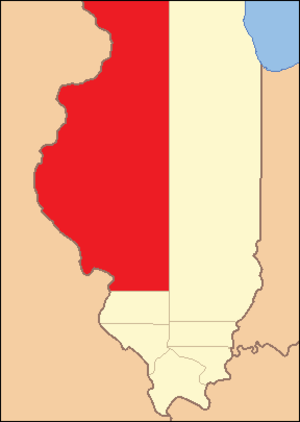 Madison County, Illinois - Image: Madison County Illinois 1815