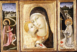 Madonna and Child; Saint John the Baptist; Saint Jerome