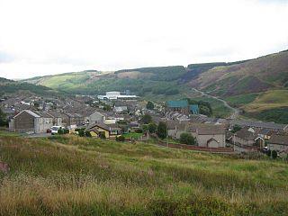 Maerdy Human settlement in Wales