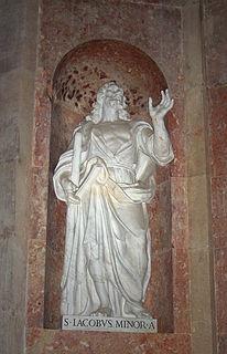 James, son of Alphaeus one of the Twelve Apostles of Jesus Christ