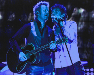 Magne Furuholmen - Mags and Morten in Manchester 2010.