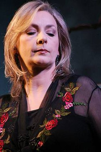 Moya Brennan - Brennan performing in New York, 2008