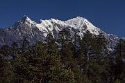 Majestic Himalayas - Luri Himal and Langtang Lirung(By Saroj Pandey).jpg