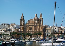 The Parish Church in Msida, Church of Sultana tal-Paci, dedicated to St. Joseph and the second patron is St. Dun Radz.