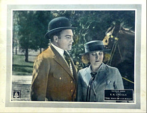 E.K. Lincoln - Lincoln and Millicent Fisher in The Man of Courage, 1922