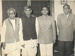 Mani Ram Bagri - Dr Ram Manohar Lohia, Mani Ram Bagri, Madhu Limay, S M Joshi