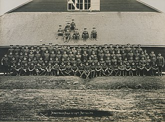 119th (Algoma) Battalion, CEF - Manitoulin Boys of the 119th Battalion