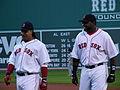 Manny Ramirez and David Ortiz vs Yankees in 2006.jpg