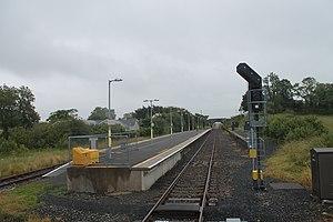 Manulla Junction railway station - Manulla Junction in 2015