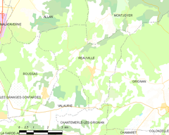 Map commune FR insee code 26261.png
