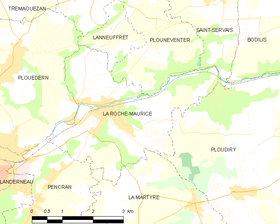 Map commune FR insee code 29237.png