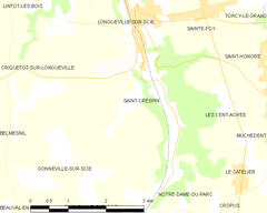 Map commune FR insee code 76570.png
