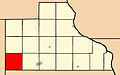 Map highlighting Monmouth Township, Jackson County, Iowa.jpg