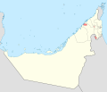 Map of Ajman blank.svg