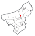 Map of Belfast, Northampton County, Pennsylvania Highlighted.png