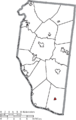 Map of Clermont County Ohio Highlighting Felicity Village.png