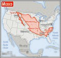 Map of Mexico superimposed on top of the contiguous U.S.jpg