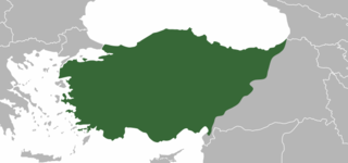 Anatolia Asian part of Turkey