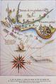 Mapa antigo de Olinda e Recife século XVI.png
