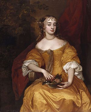 John Denham (poet) - Denham's second wife Margaret, painted by Peter Lely.