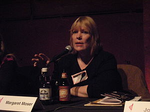 "Margaret Moser - Moser on the panel ""Reconsidering the Groupie"" at the 2009 Pop Conference, Experience Music Project"