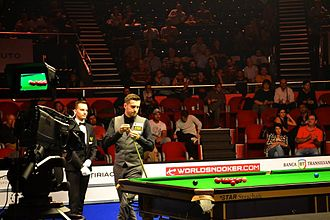 Selby at 2016 European Masters in Bucharest, Romania Mark Selby at 2016 European Masters.jpg