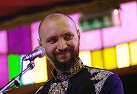 Marko Halanevych (DakhaBrakha) (Haldern Pop 2013) IMGP6749 smial wp.jpg