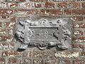 Maroilles, Nord plaque sur maison ancienne.JPG
