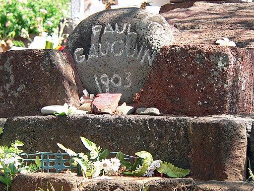 Marquesas Hiva Oa Grab Paul Gauguin