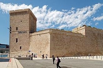 Fort Saint-Jean (Marseille) - Image: Marseille Fort Saint Jean bjs 180810 02