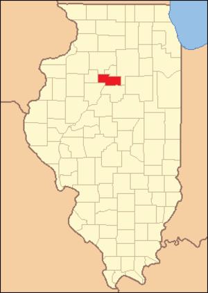 Marshall County, Illinois - Image: Marshall County Illinois 1843