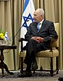 Martin E. Dempsey meets with Shimon Peres in Jerusalem Oct. 29, 2012 121029-D-VO565-009 (8138536255) (cropped).jpg