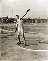 Martin Sheridan of the Greater New York Irish Athletic Association throwing the discus at the 1904 Olympics.jpg